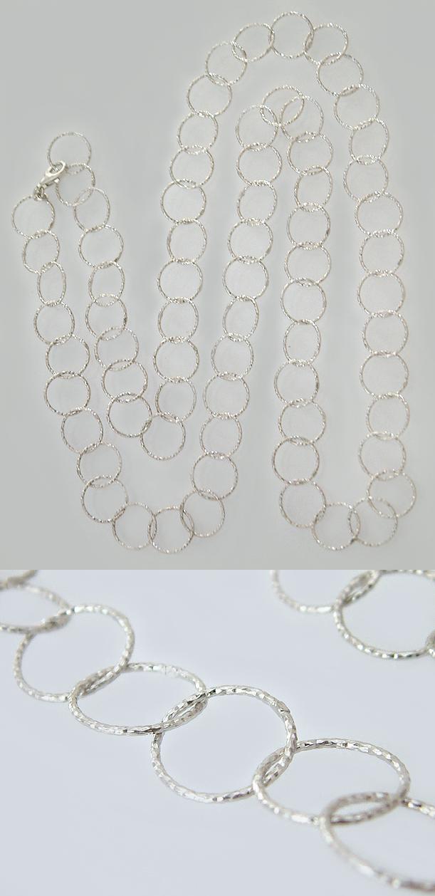 81 cm lange silberkette 925 grosse runde glieder kette silber gliederkette ebay. Black Bedroom Furniture Sets. Home Design Ideas