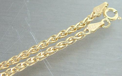 echt gold kette 585 seilmuster halskette goldkette 45 cm collier gold 14kt ebay. Black Bedroom Furniture Sets. Home Design Ideas