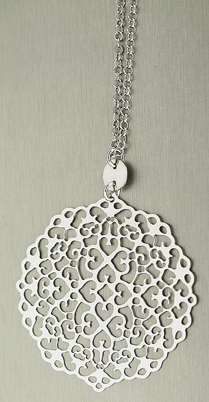 84 cm silberkette 925 grosser runder anh nger kette silber collier halskette ebay. Black Bedroom Furniture Sets. Home Design Ideas