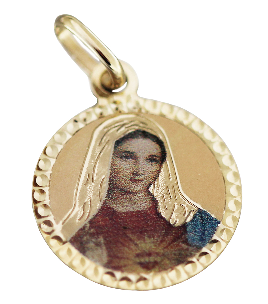 Anhänger Madonna  echt Silber 925 18 mm Maria Jesus Qualität  Sterlingsilber